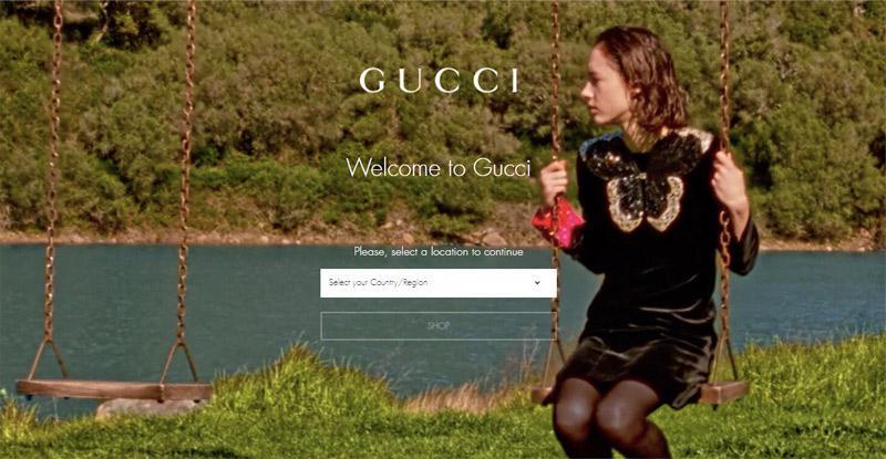 Các thương hiệu lớn sẽ có trang web riêng đặt hàng